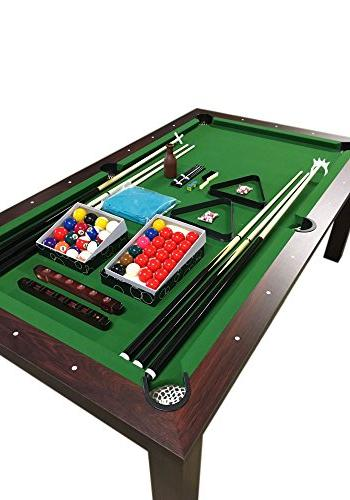 POOL 7FT MISSISIPI Snooker Full 7FT A TABLE INCLUDED THE !!