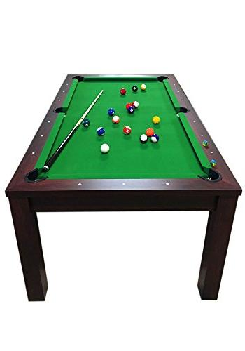 POOL TABLE 7FT MISSISIPI Snooker Full 7FT TABLE COVERAGE PLAN INCLUDED THE PRICE !!