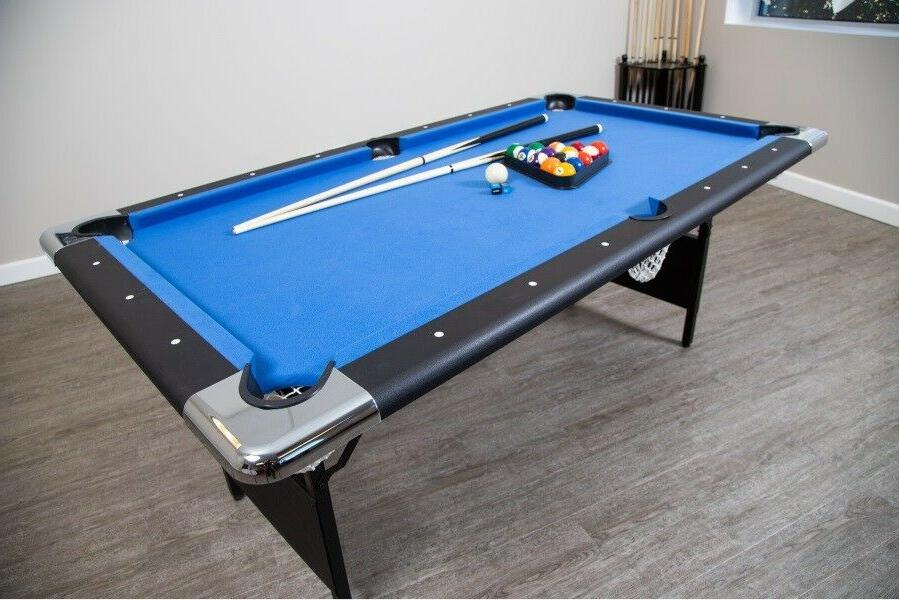 POOL TABLE 6 Foot Game w/Accessories Game Room