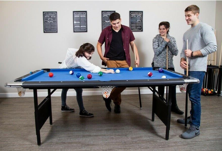 POOL Foot Folding w/Accessories Game Room