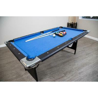 portable pool table 6 ft folding legs
