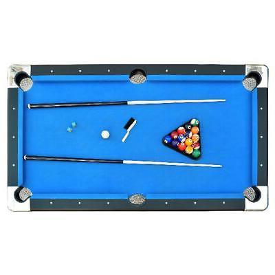 Portable Pool Table 6 Ft Indoor Billiard Easy Folding Storag