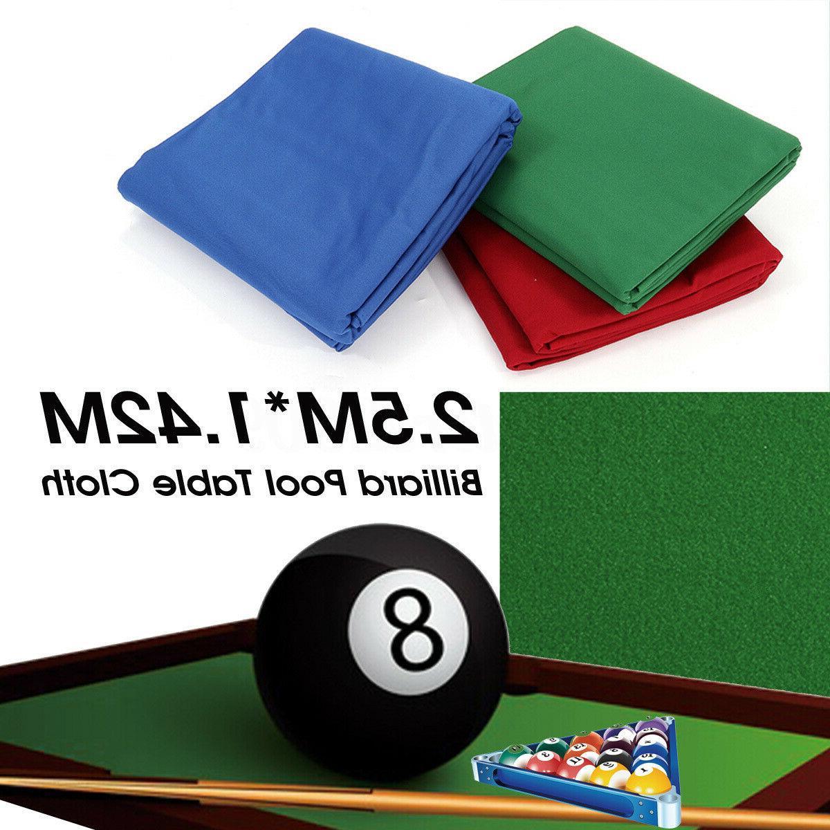 Professional Pool Cloth Mat Felt Accessories 7/8/9FT