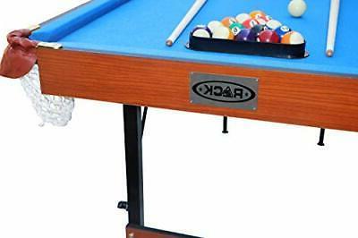 Rack 4.5-Foot Billiard/Pool Table