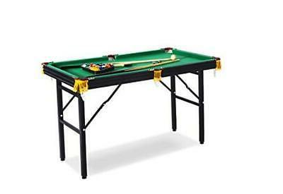 rack leo 4 foot foldable billiard pool