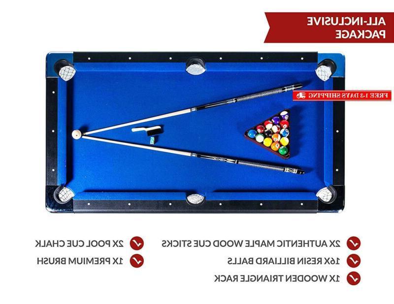 Rack Vega Billiard/Pool Includes Complete Accessories Set