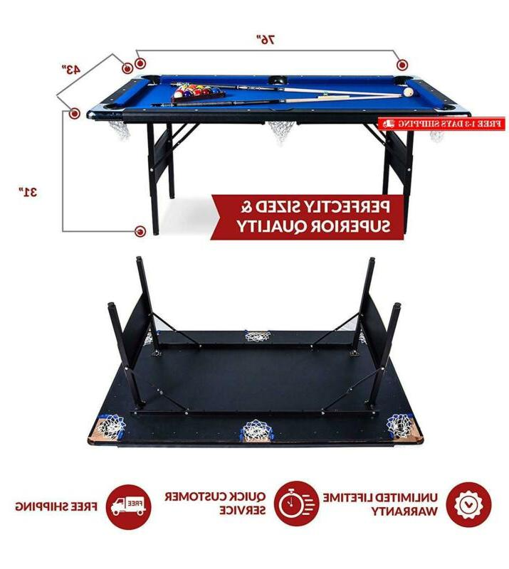 Rack Billiard/Pool Table, Accessories