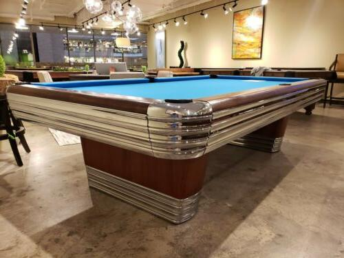Restored 9' 1946 Brunswick Centennial pool table