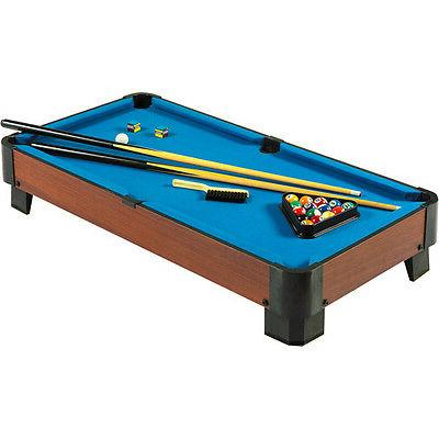 Hathaway Portable Table with Cues, Blue