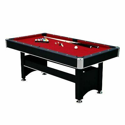 "Hathaway Pool Table, x 38"" x H, Black"