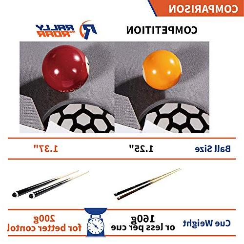 """Tabletop Pool and Accessories, 40"""" 20"""" x Mini, Balls, Cues, and - Camping, Trips"""