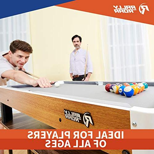 """and Accessories, 20"""" x Mini, Travel-Size Billiard - Games Camping, Road Trips"""