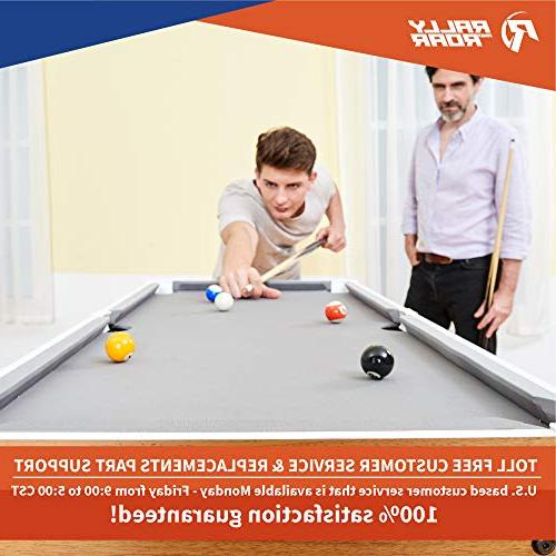 """Tabletop Pool Table and Accessories, 40"""" 20"""" 9"""" Balls, Games for Camping,"""