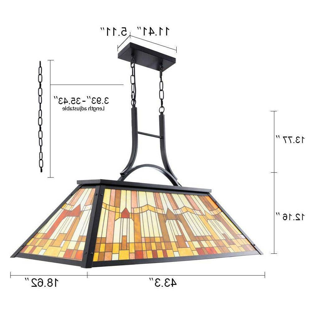 Tiffany Style Light Table Billiard Pendant Ceiling