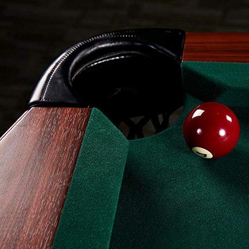 Lancaster Traditional Full Billiard Pool Table Set Accessories