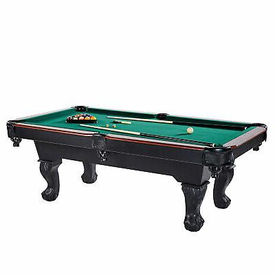 traditional billiard pool table set