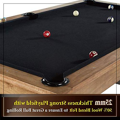 Barrington Professional Billiard Pool Full - and Balls, Cues, Billiards Game Complete