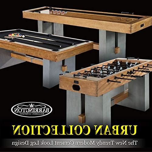 Barrington Pool Set with - and Wooden Playing Tables with Balls, Billiards Game