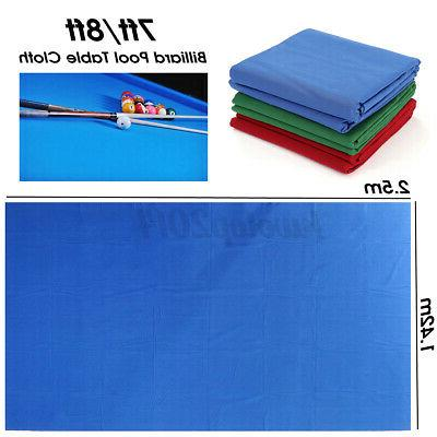 US Billiard Cloth Worsted Mat Cover For Most Pool