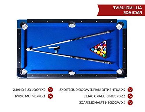 Rack Vega 6-Foot Billiard/Pool Includes Complete Accessories