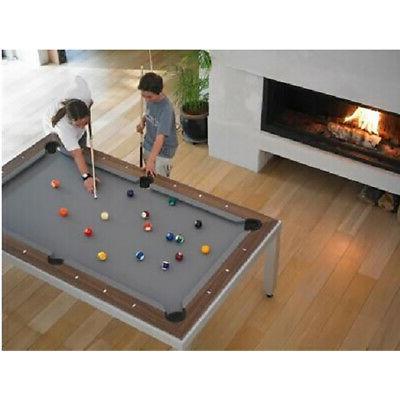 Aramith Stainless Steel w Fusion Billiard Table