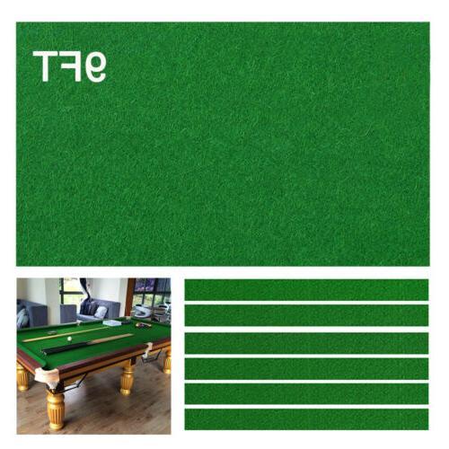 9FT Table Billiard Worsted Tables Cloth RAILS
