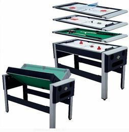 """Lancaster 54"""" 4 in 1Pool Bowling Hockey Table Tennis Combo A"""