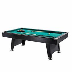 Lancaster 90 Inch Arcade Game Room Billiard Pool Table with