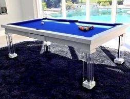 luxury convertible dining pool table billiard dining