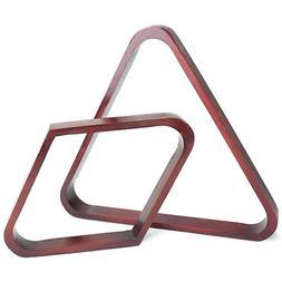 Felson Billiard Supplies Mahogany Stain Triangle and Diamond