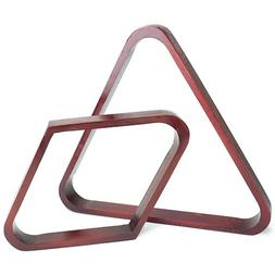 Felson Billiard Supplies Mahogany Stain Triangle and Diamond