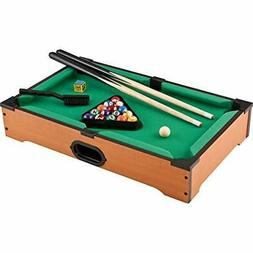 Mainstreet Classics 20-Inch Table Top Miniature Billiard/Poo
