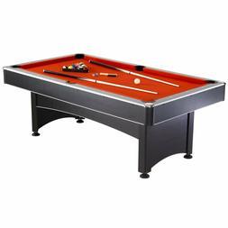 "Hathaway Maverick 7"" Combo Pool Table & Table Tennis Red/Blu"