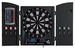 Fat Cat Mercury Electronic Dartboard, Built In Cabinet Doors