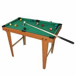 Mini Kids Billiard Ball Snooker Tabletop Pool Table Desktop