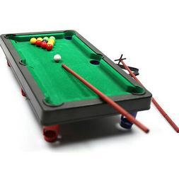 Mini Pool Table Flocking desktop Simulation Billiard Table S