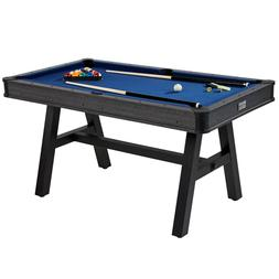 Mini Pool Table Indoor Billiard Game with 2 Chalk 2 Cues 1 T