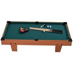 Goplus Mini Pool Table Tabletop Billiard Game Set w/Cues Bal
