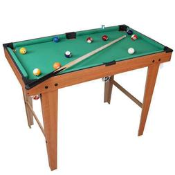 Mini Snooker Table Set Top Pool Game Billiard Ball Kid Child