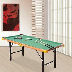 New 4.5ft Mini Table Top Pool Table Game Billiard Board Play