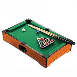 WGW Mini Tabletop Ball Billiards Home Billiard Game Sets Poo
