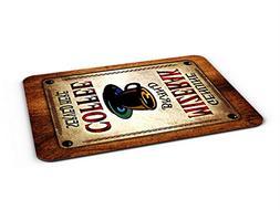 Mizerak Coffee Mousepad/Desk Valet/Coffee Station Mat