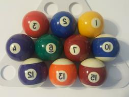 Mizerak Pool Table Balls Singles