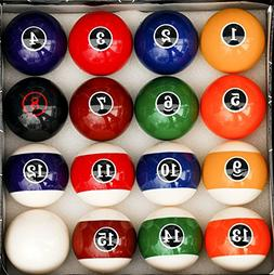 modern pool ball set