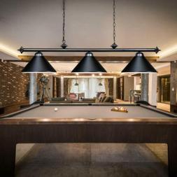 Modern Pool Table Light Billiard 3 Lights Pendant lights Bla