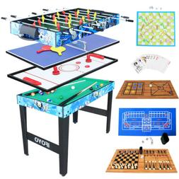 Multi 14 in 1 Steady Combo Game Table Hockey Table Table Ten