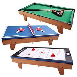 Giantex Multi Game Table Pool Hockey Foosball Table Tennis B