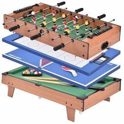Giantex Multi Game Table Pool Air Hockey Foosball Table Tenn
