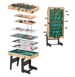Multi Game Tables For Game Room Kids Combo Folding Soccer Po