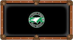 NCAA - North Dakota Pool Table Cloth College Team Logo